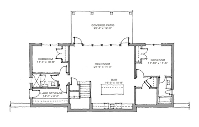 shell cracker floor plan lower level